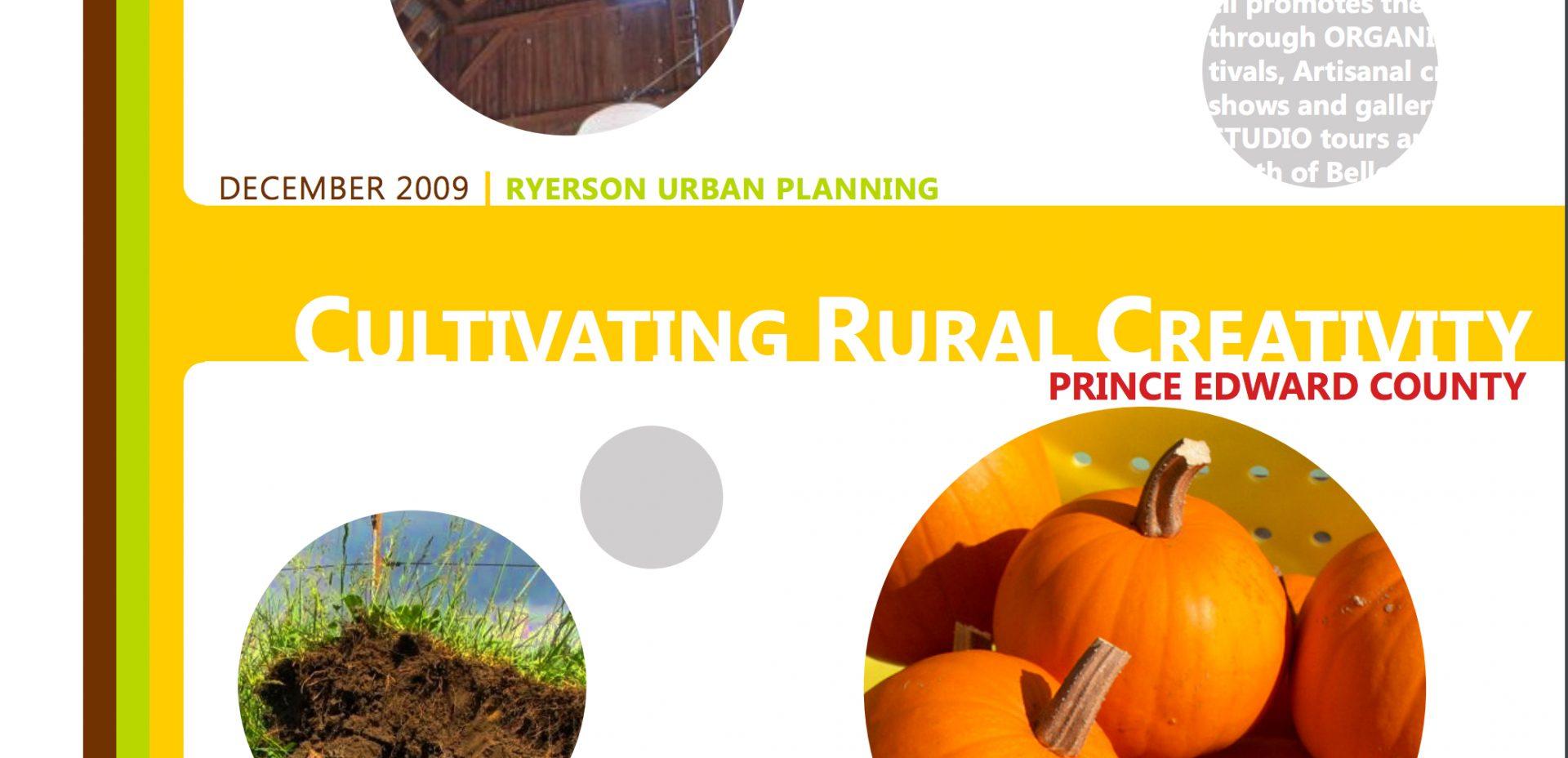 Cultivating Rural Creativity 1