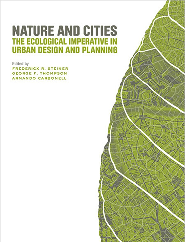 Books chapters ecological design lab Urban planning and design for the american city