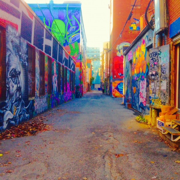 A Resurrection of  Laneways: 21