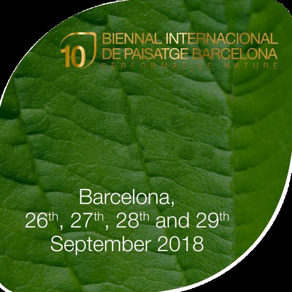 Keynote Lecture - Landscape Architecture Biennale of Barcelona 1