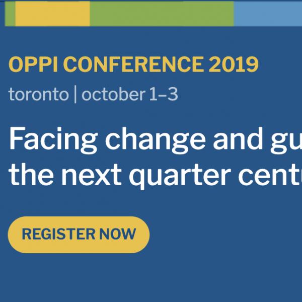 OPPI 2019 Conference